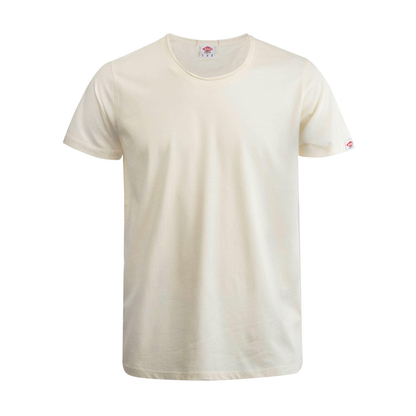 Lee Cooper Layer Neck T Shirt Mens