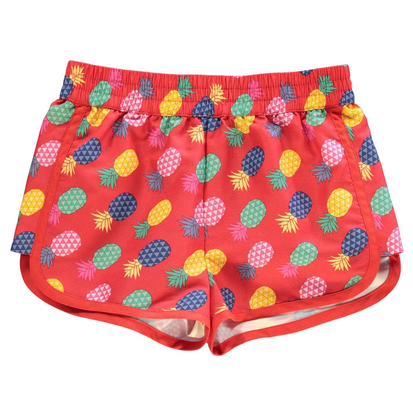 Hot Tuna Print Shorts Junior Girls