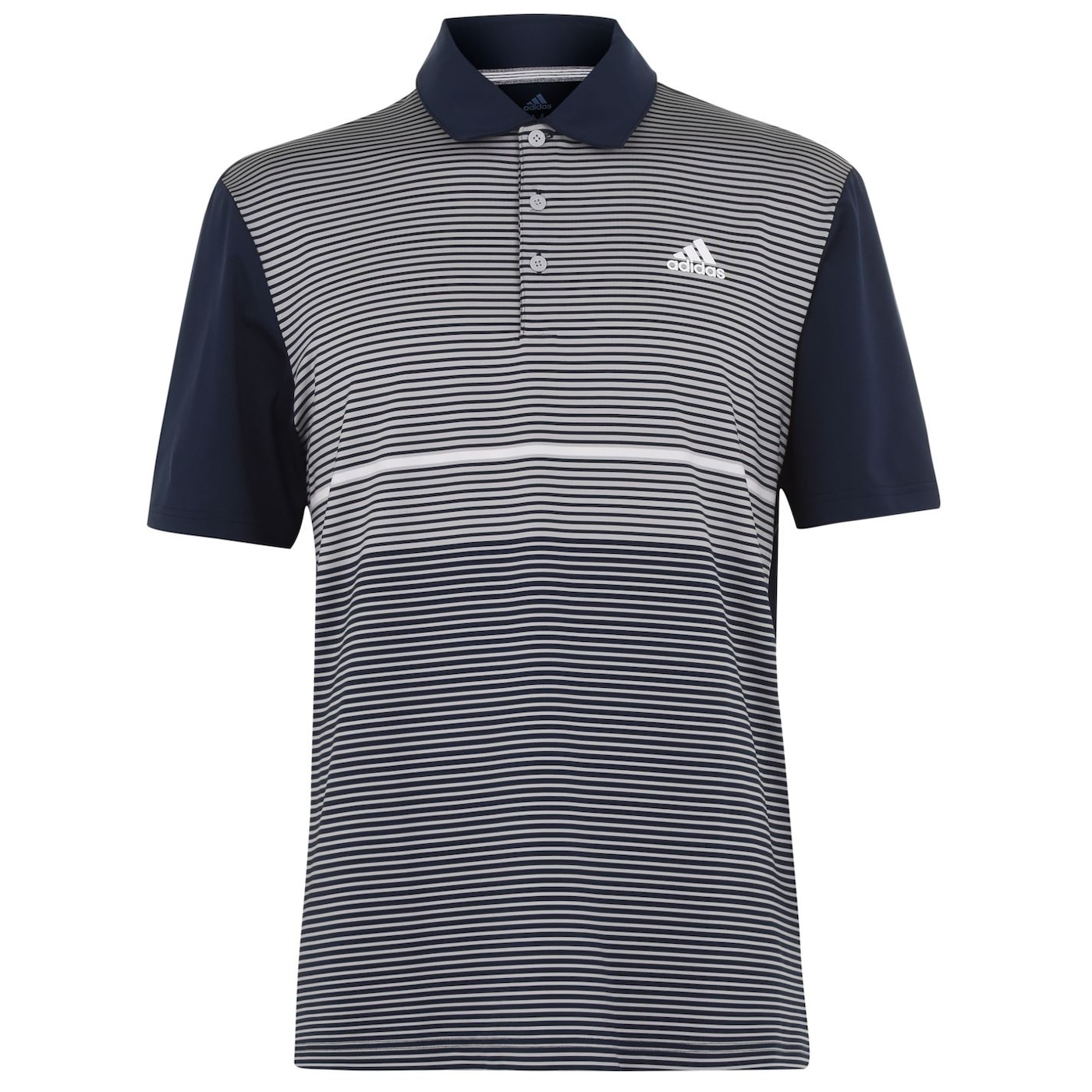 Adidas Ultimate365 Colour Block Golf Polo Shirt Mens