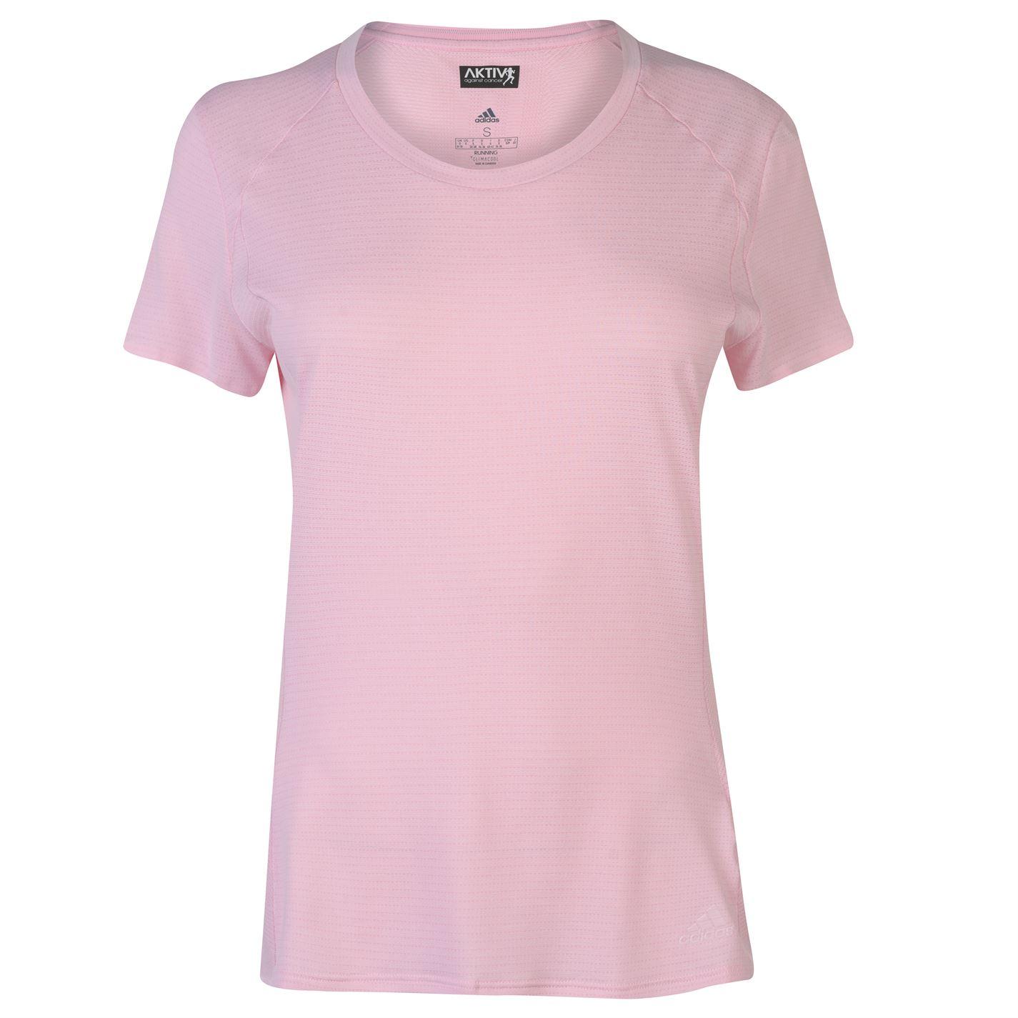 Adidas Snova Short Sleeve T Shirt Ladies