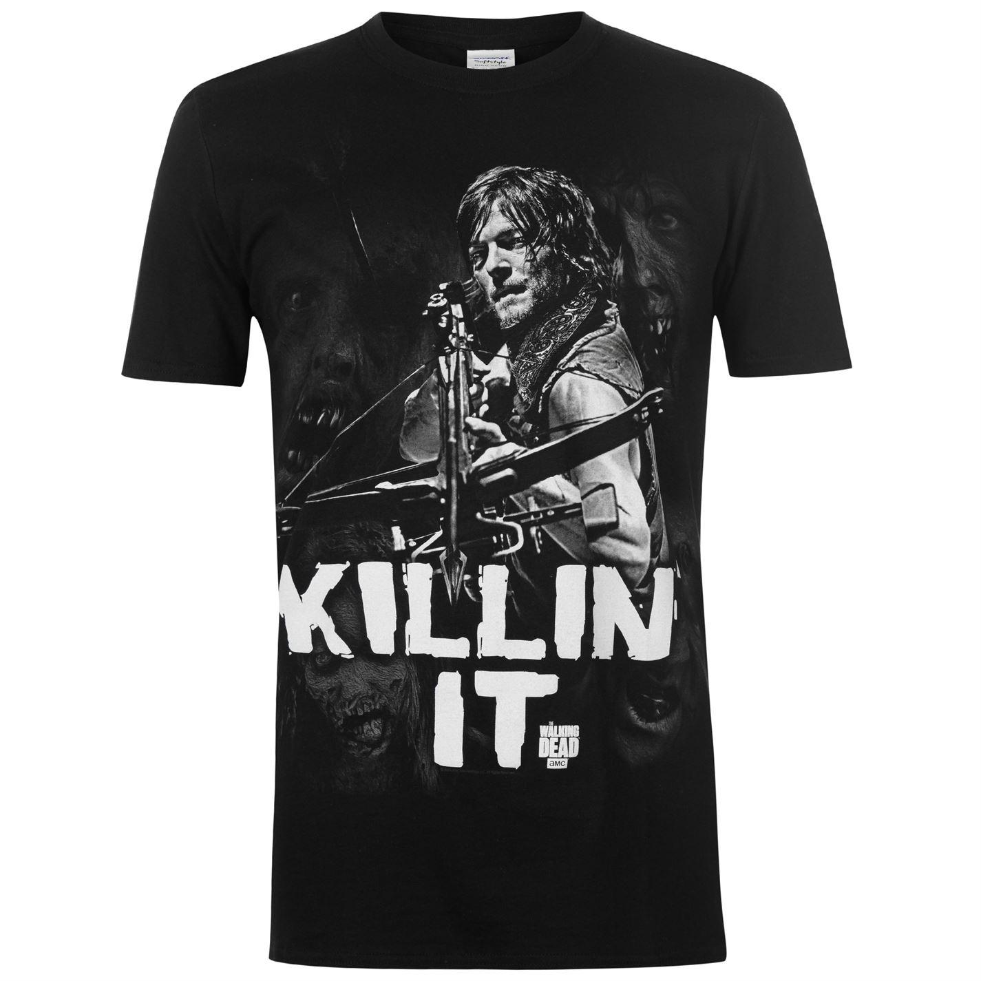 Character Walking Dead T Shirt Mens