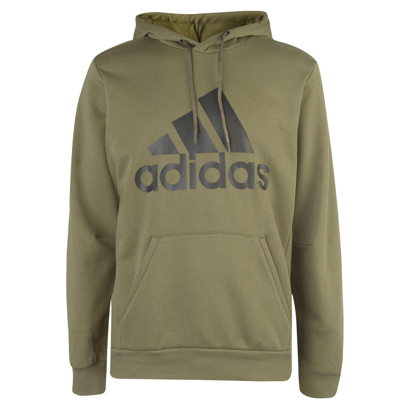 Adidas Bold Logo Hoodie Mens