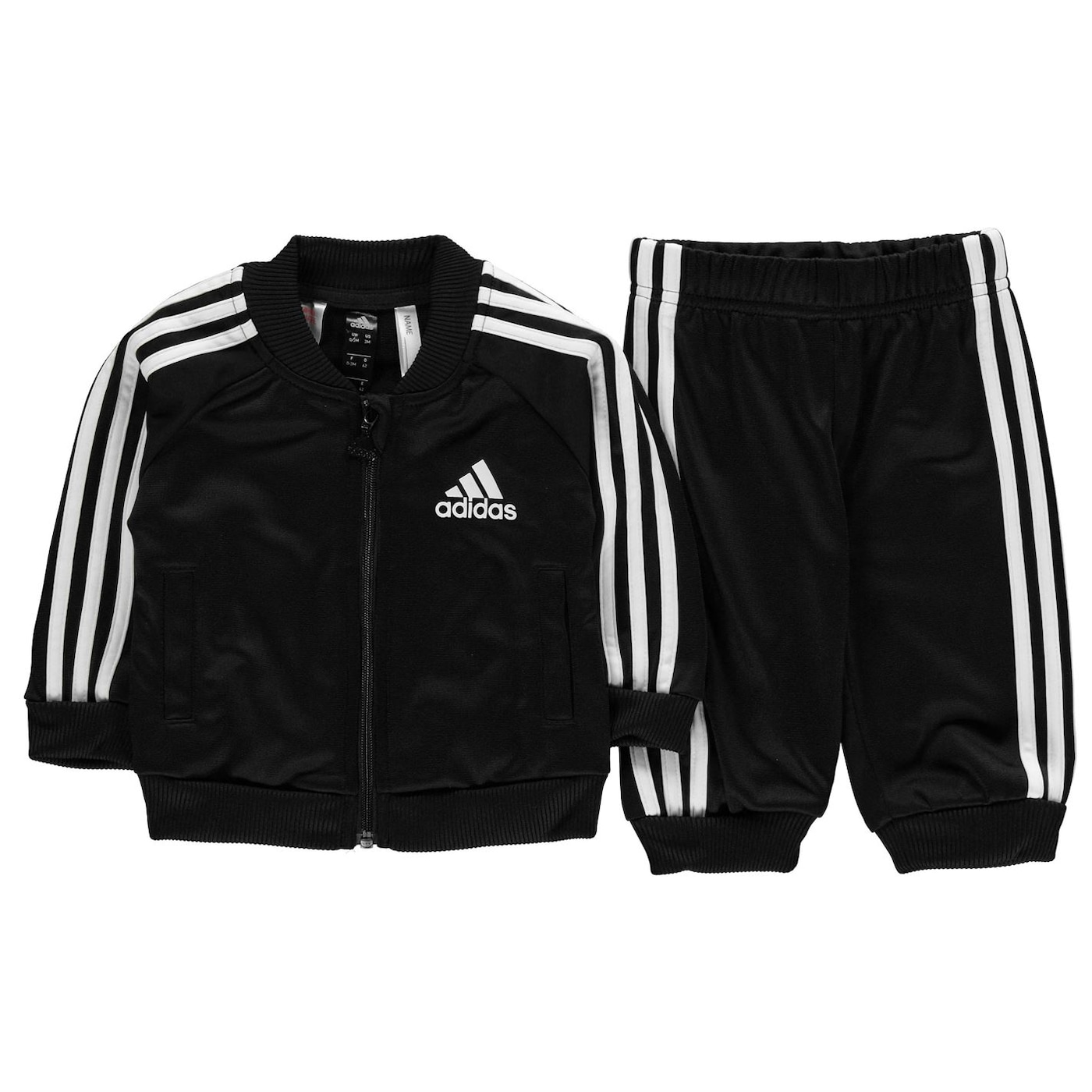 Adidas 3S Poly Track Suit Infant Boys