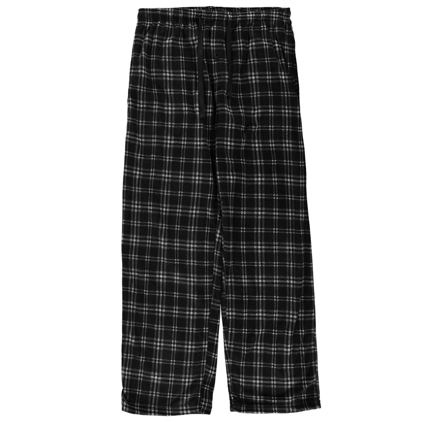 Gelert Soft Plaid Pyjama Bottoms pánské