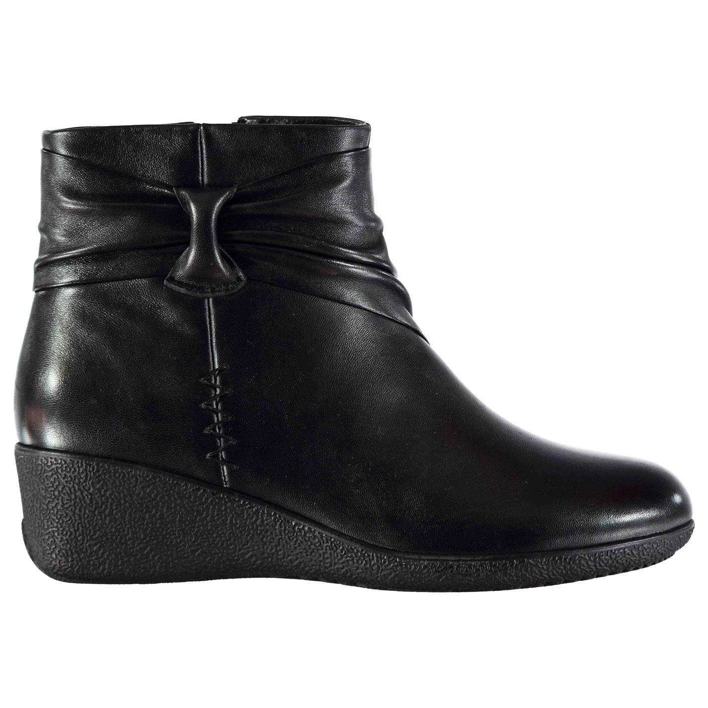 Kangol Winnie Ladies Wedge Boots
