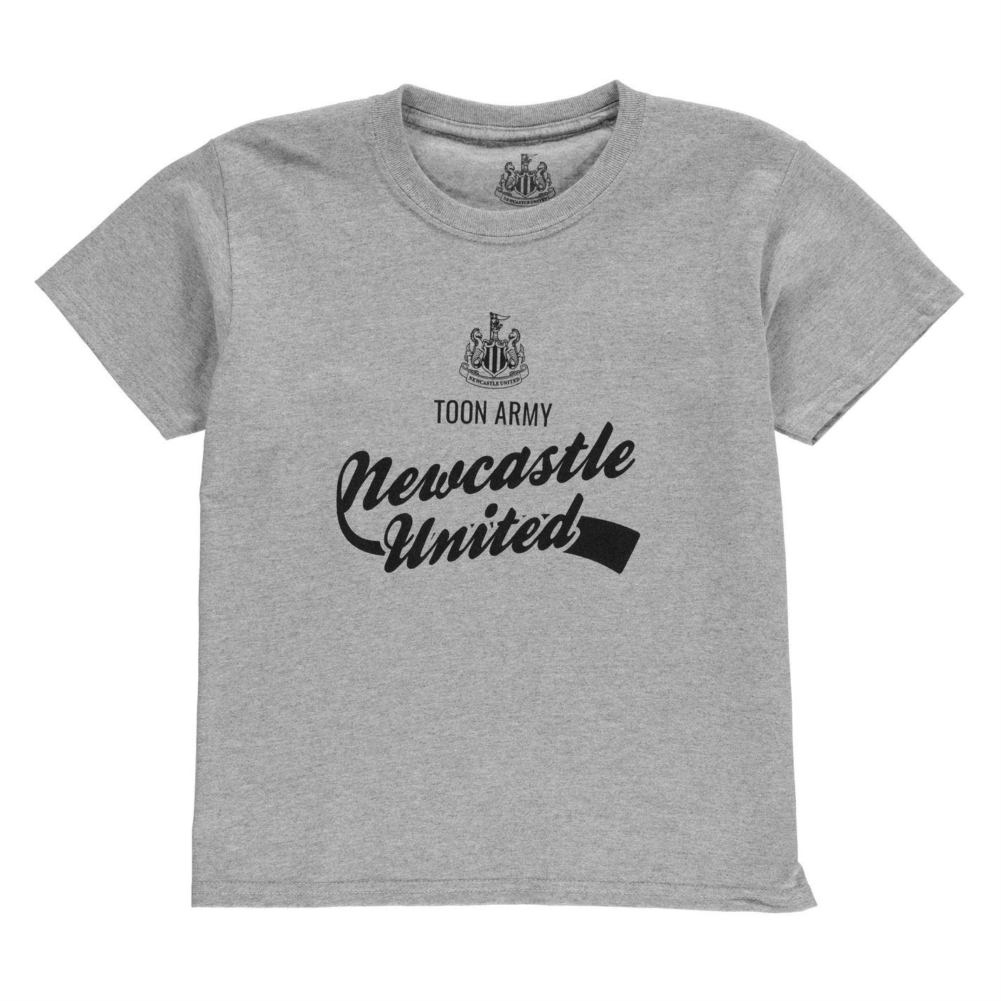 NUFC Graphic T Shirt Junior