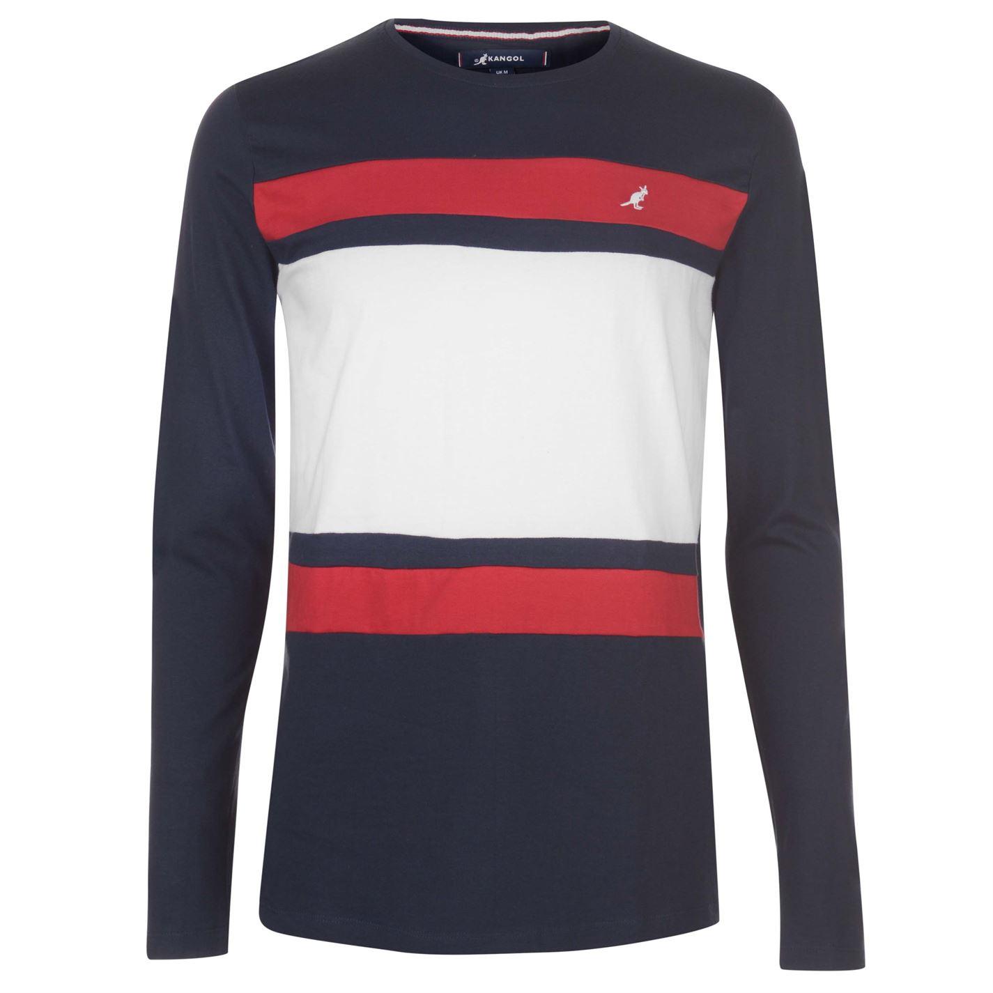 408433c4ed Triko Kangol Long Sleeve T Shirt pánské