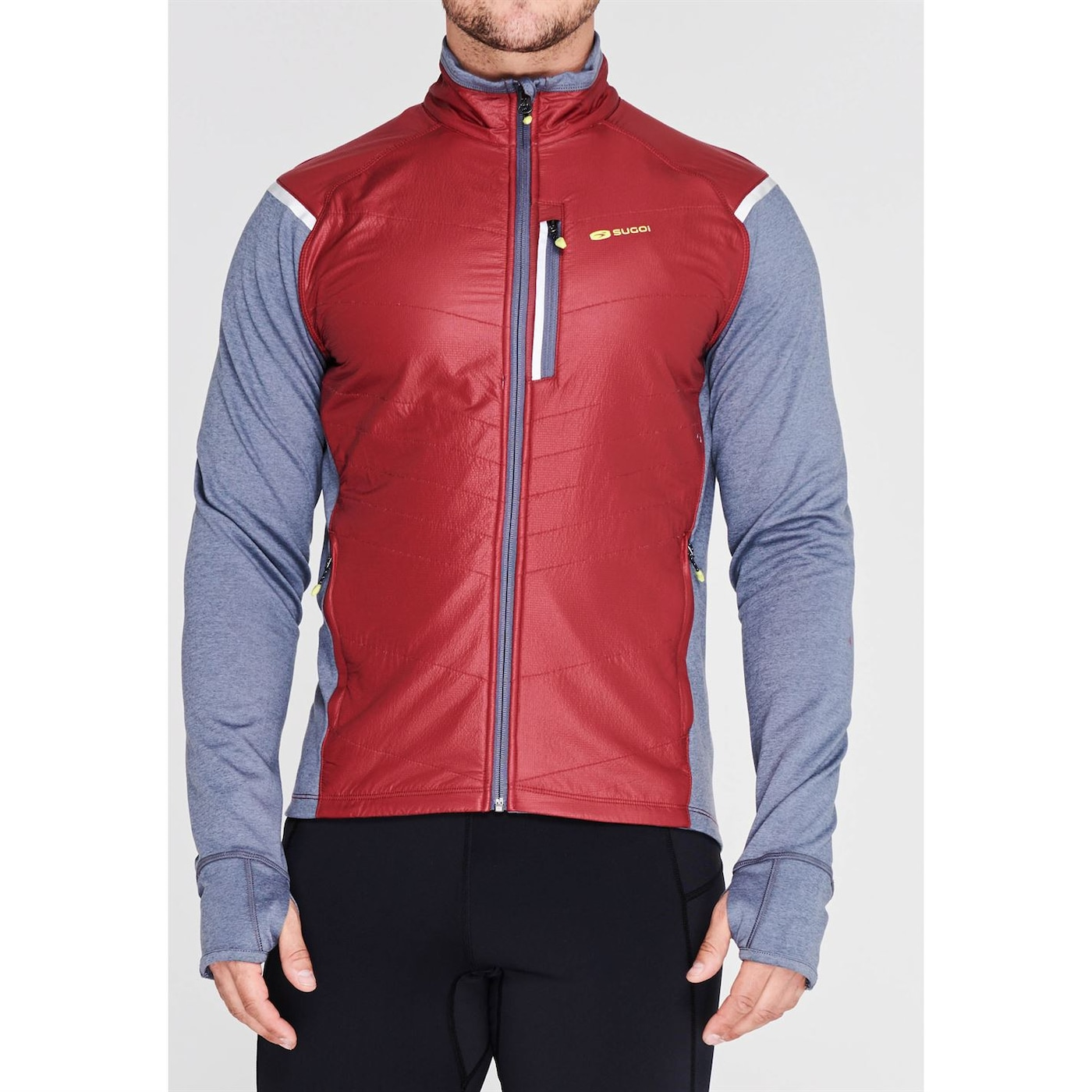 Sugoi Alpha Hybrid Cycling Jacket Mens