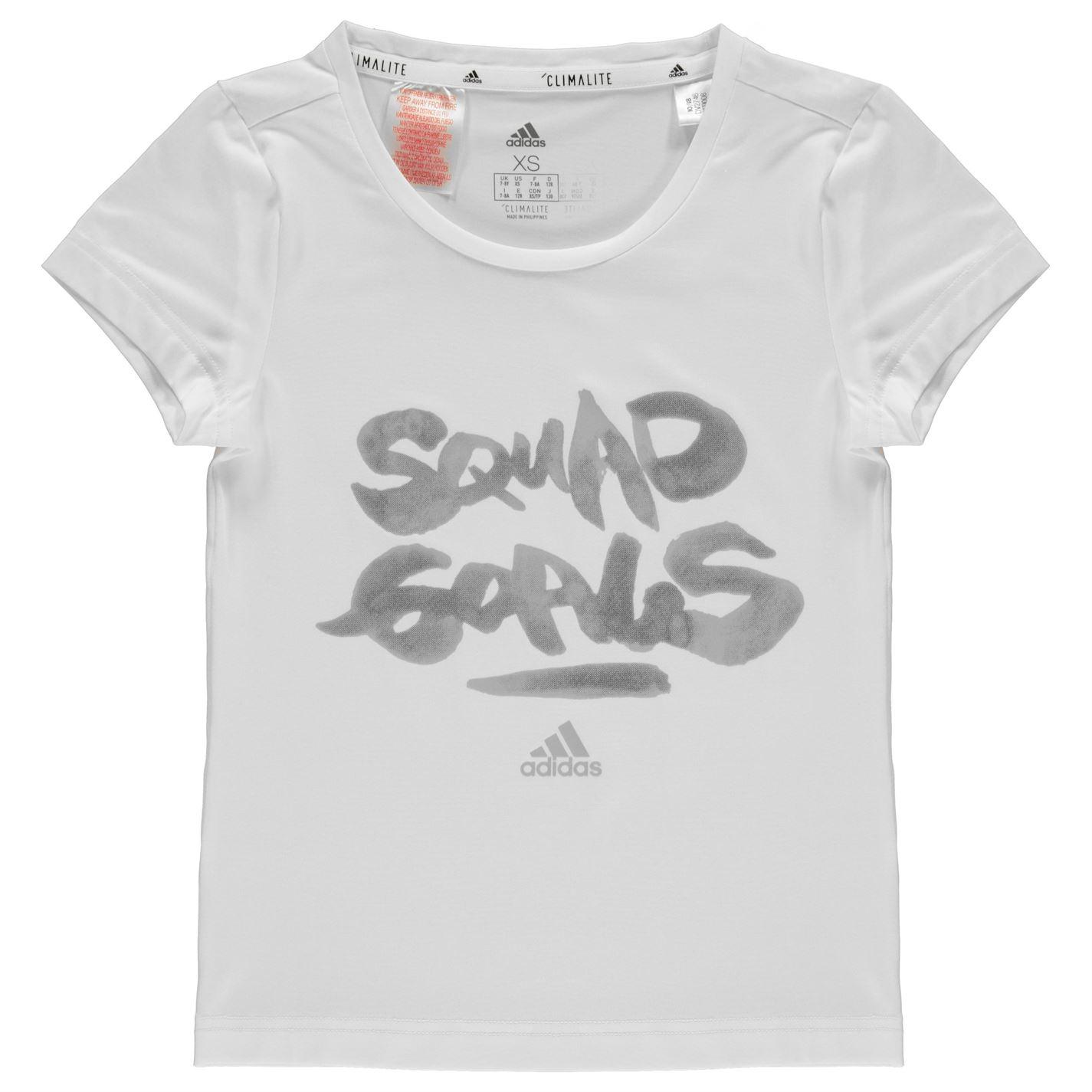 Adidas Squad T Shirt Junior Girls