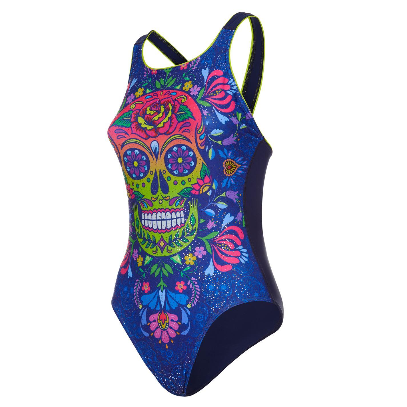 Maru Vee Back Swimsuit Ladies