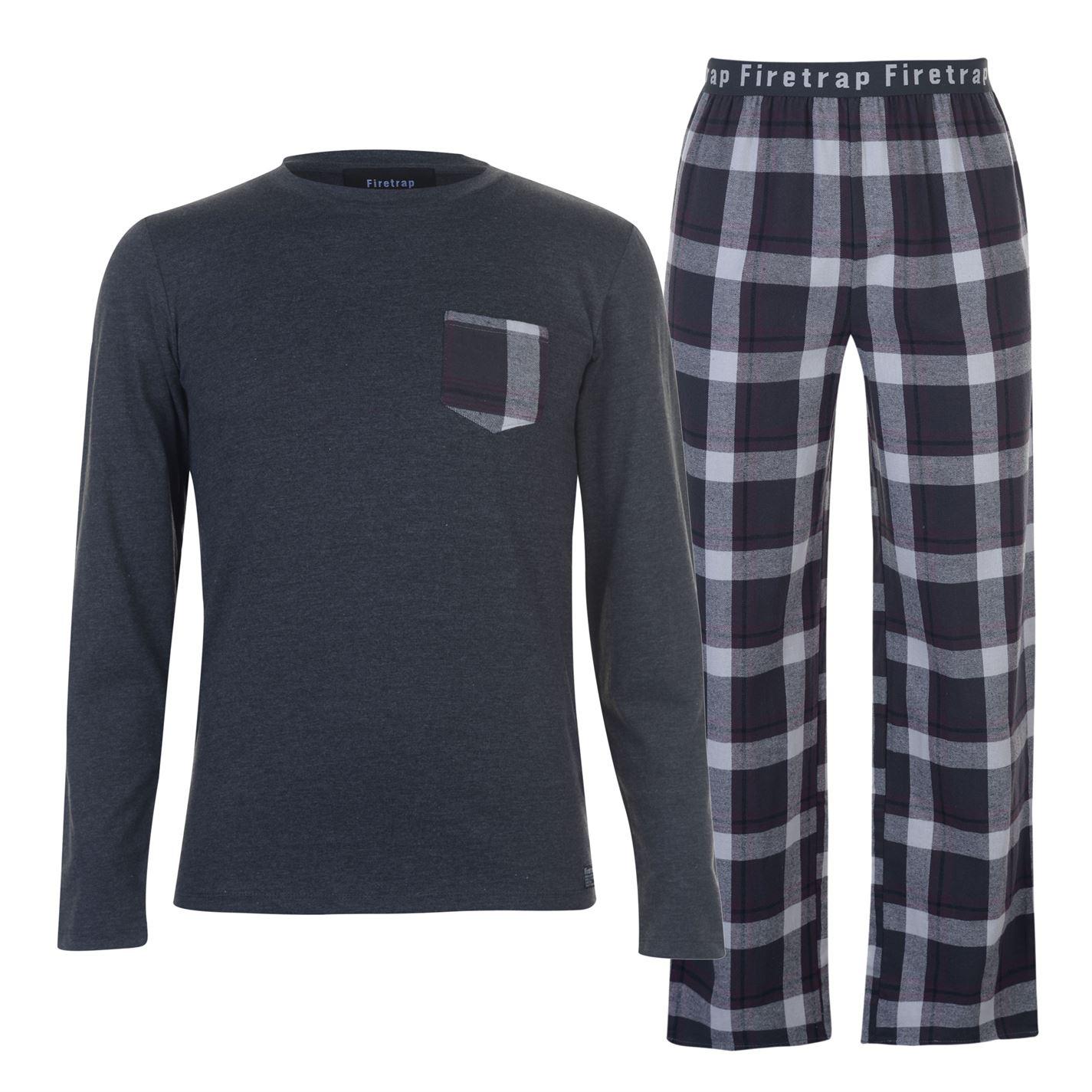 Firetrap pánske pyžamo s dlhým rukávom