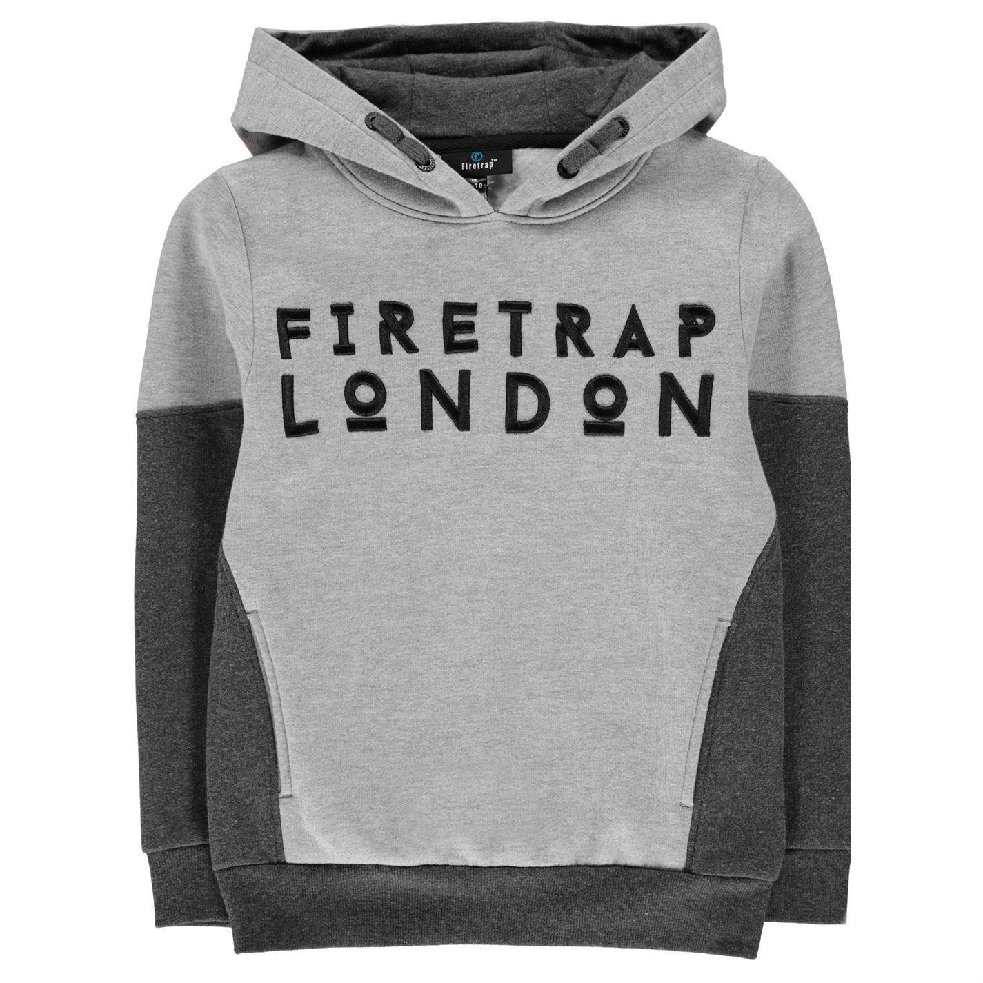 Firetrap Over The Head Hoody Junior Boys