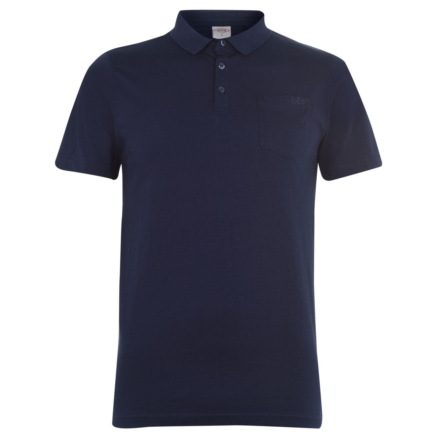 Lee Cooper Essentials Polo Shirt Mens