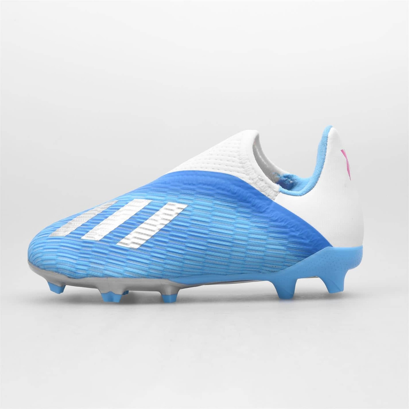 Adidas X 19.3 Laceless Childrens Boys FG Football Boots