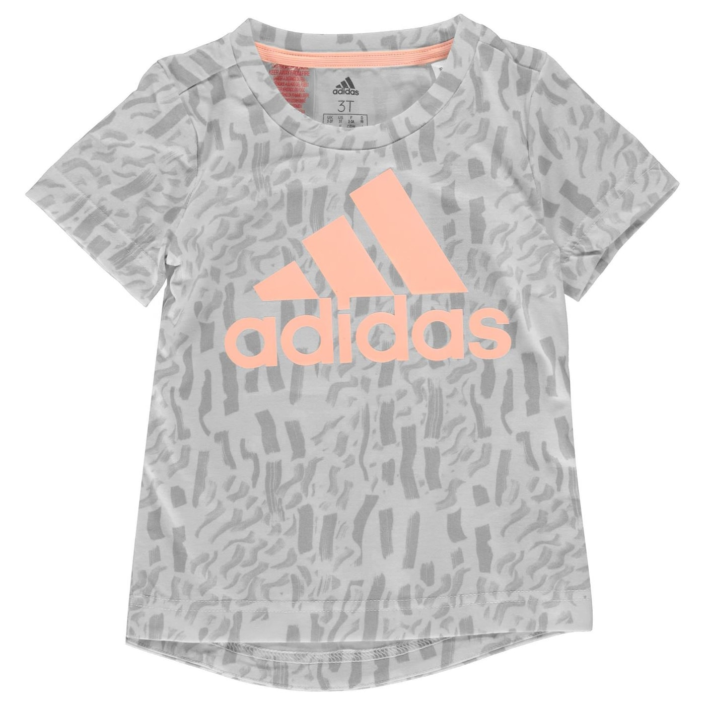 Adidas Badge Of Sport T Shirt Girls