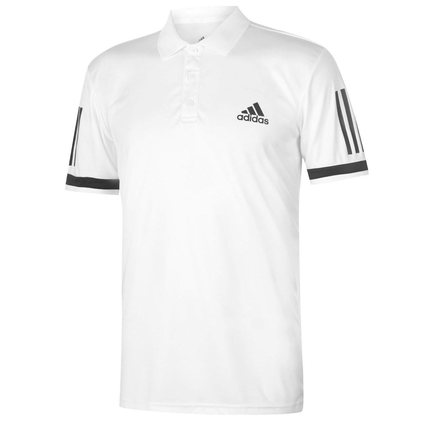 Adidas Club 3 Stripe Polo Mens
