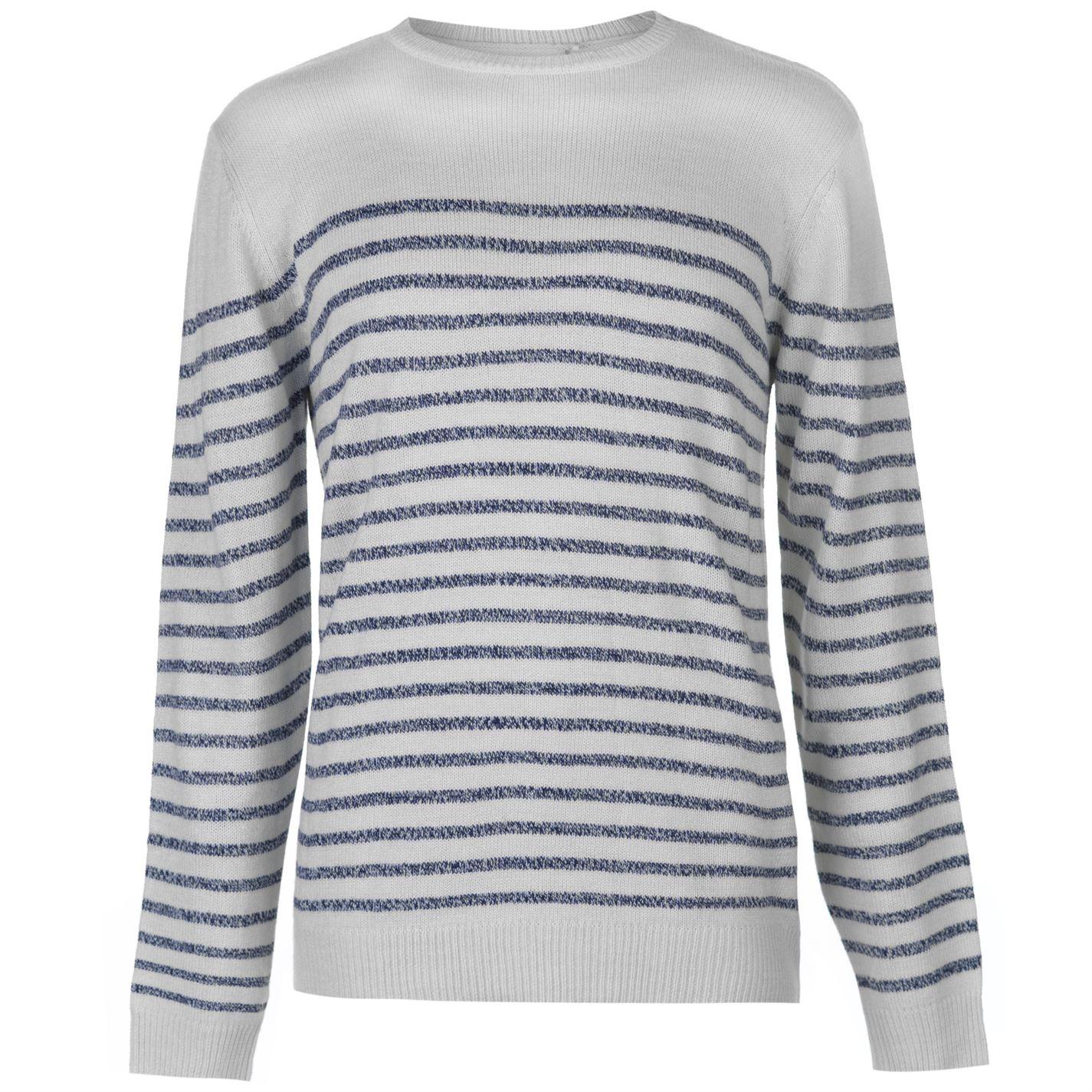 Lee Cooper Knitted Striped Jumper pánské