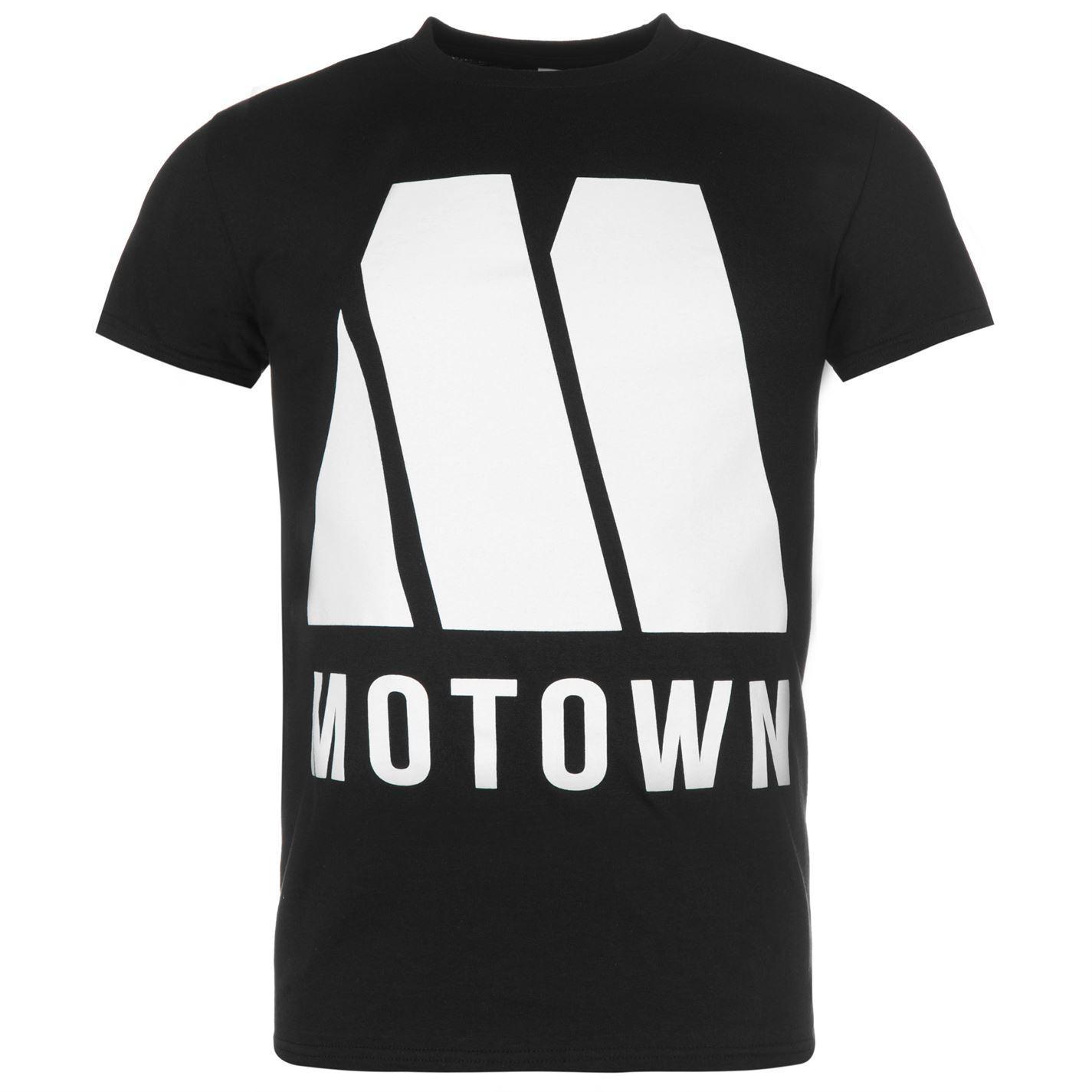 Official Motown T Shirt Mens