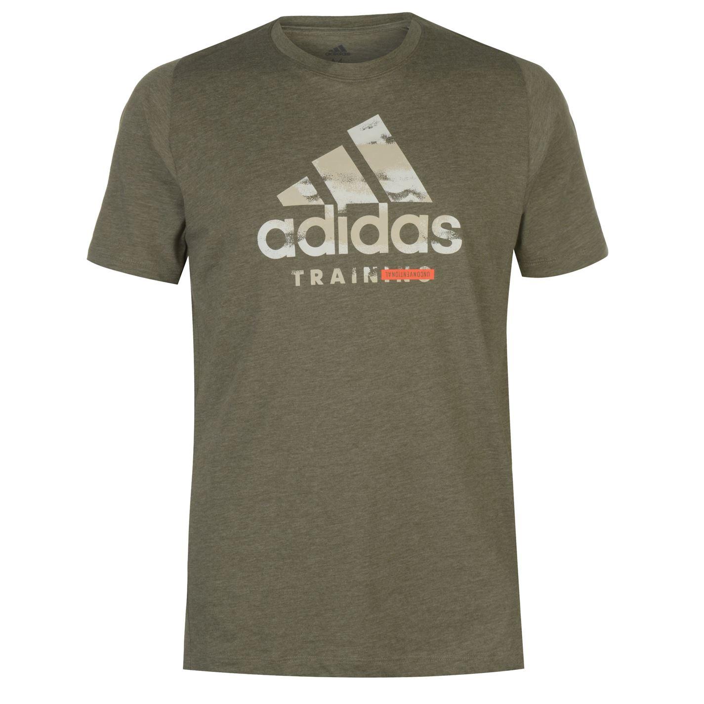 Adidas Mens Short Sleeve Performance Logo T-Shirt