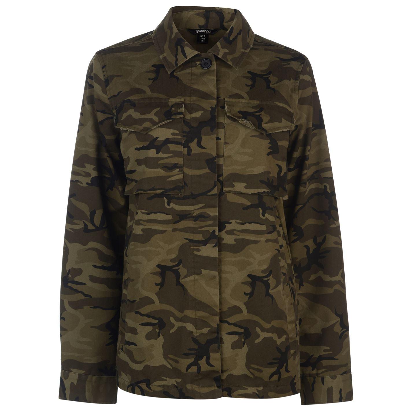 992eb8478 Golddigga military jacket ladies levně | Blesk zboží