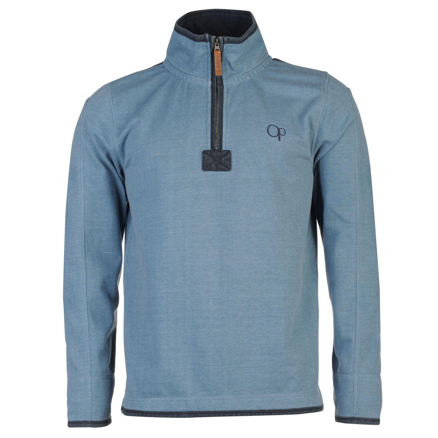 Ocean Pacific Quarter Pique Sweater Mens