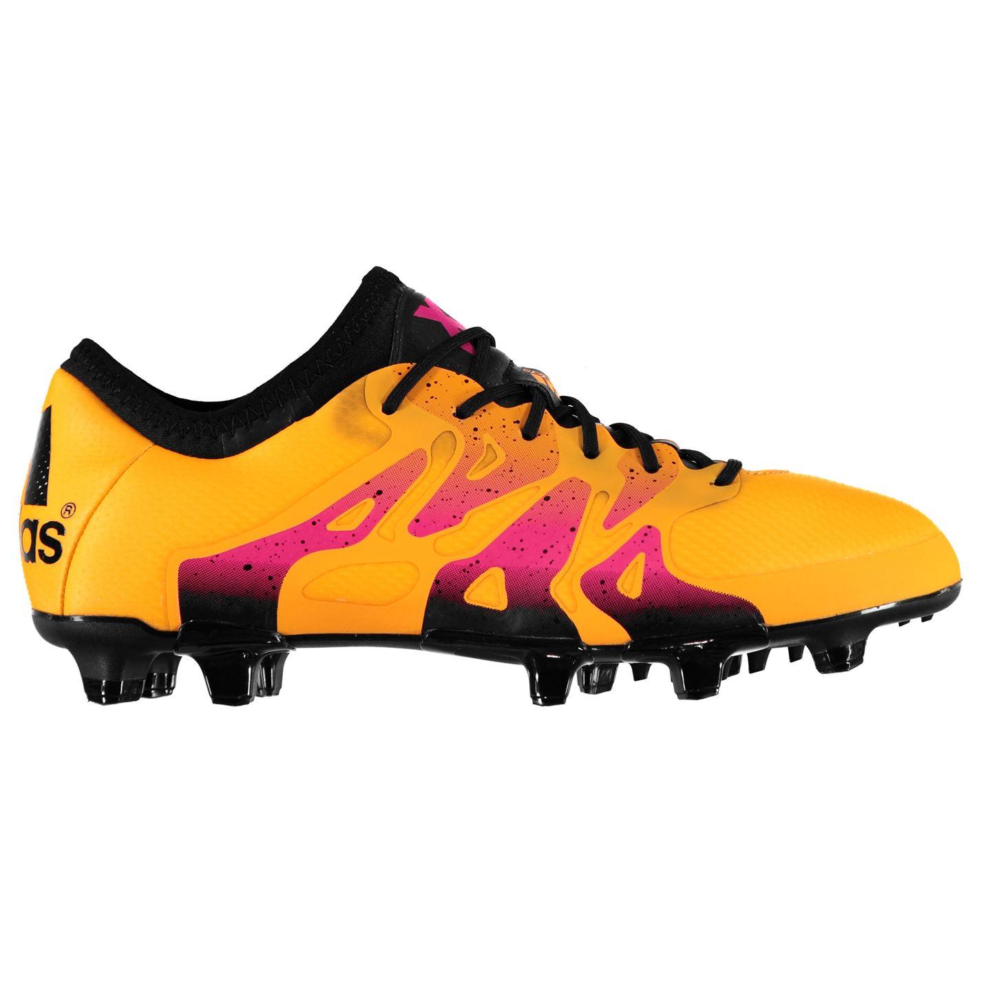 Adidas X 15.1 FG AG Solar Gold Mens Football Boots