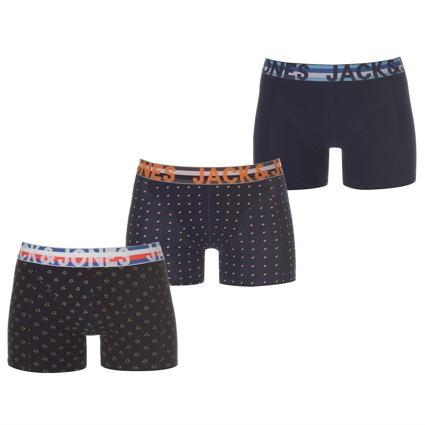 Jack and Jones Henrik 3 Pack Trunks