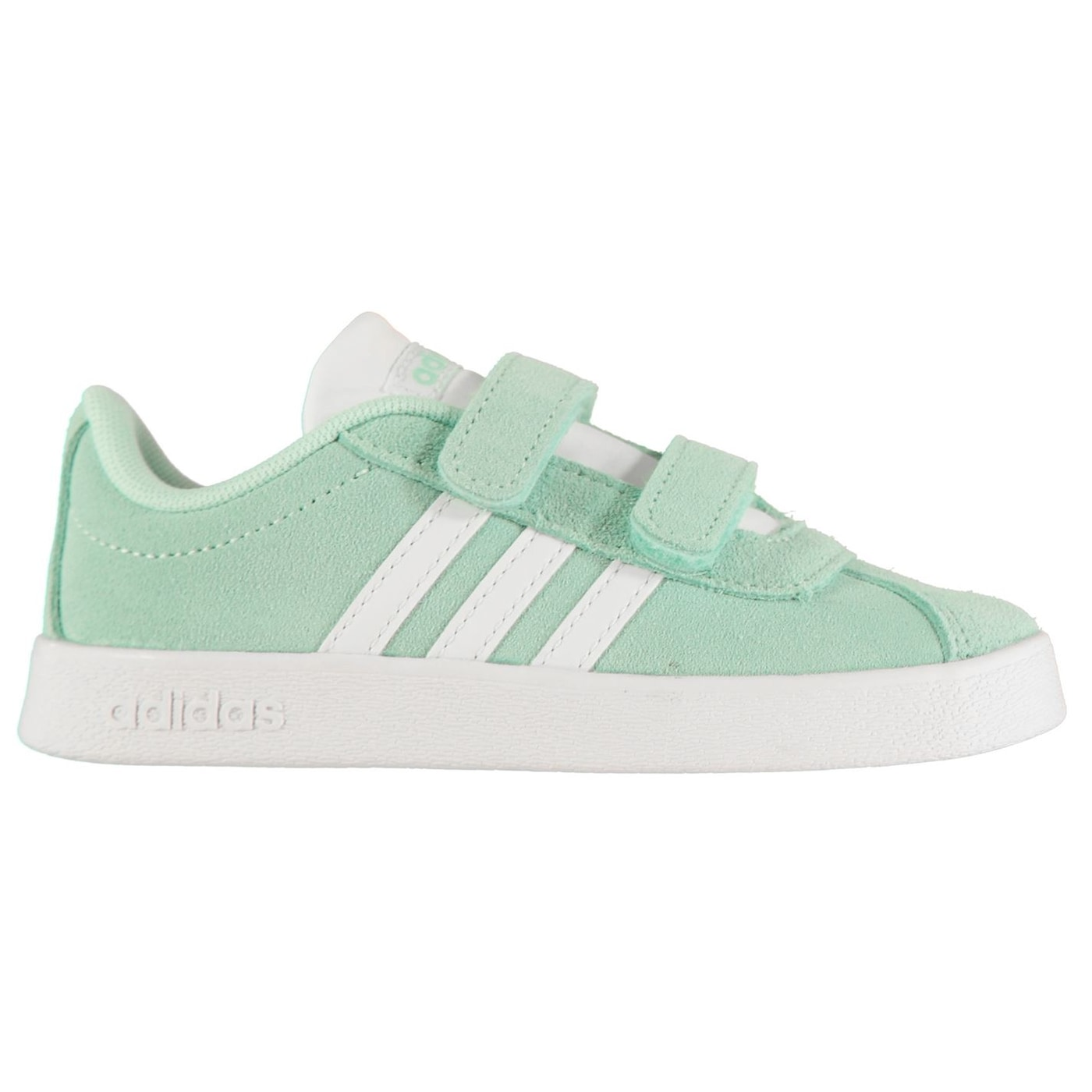 Adidas VL Court Suede Infant Girls Trainers