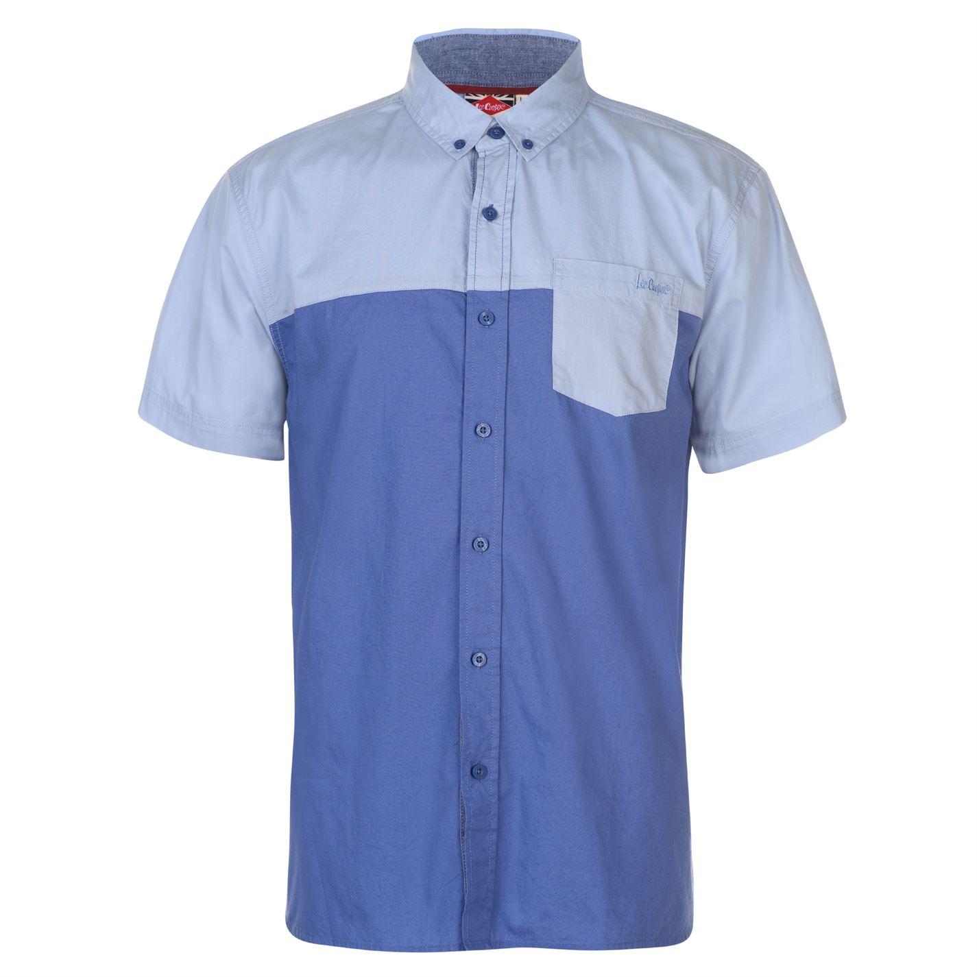 Lee Cooper Short Sleeve Shirt Mens
