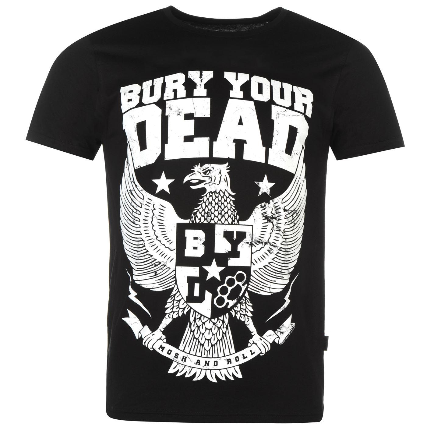 Official Bury Your Dead T Shirt Mens