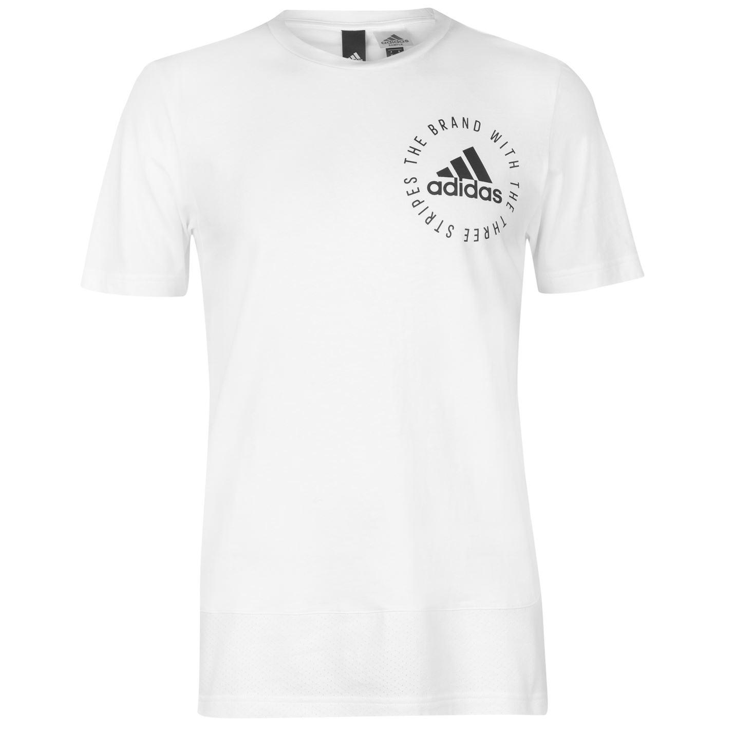 Adidas Sport ID Mesh Panel Tee Mens
