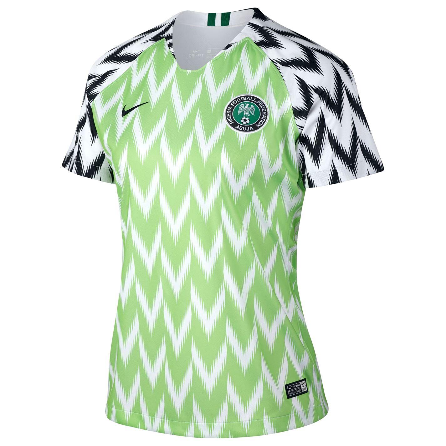 Nike Nigeria World Cup 2019 Home Shirt Ladies