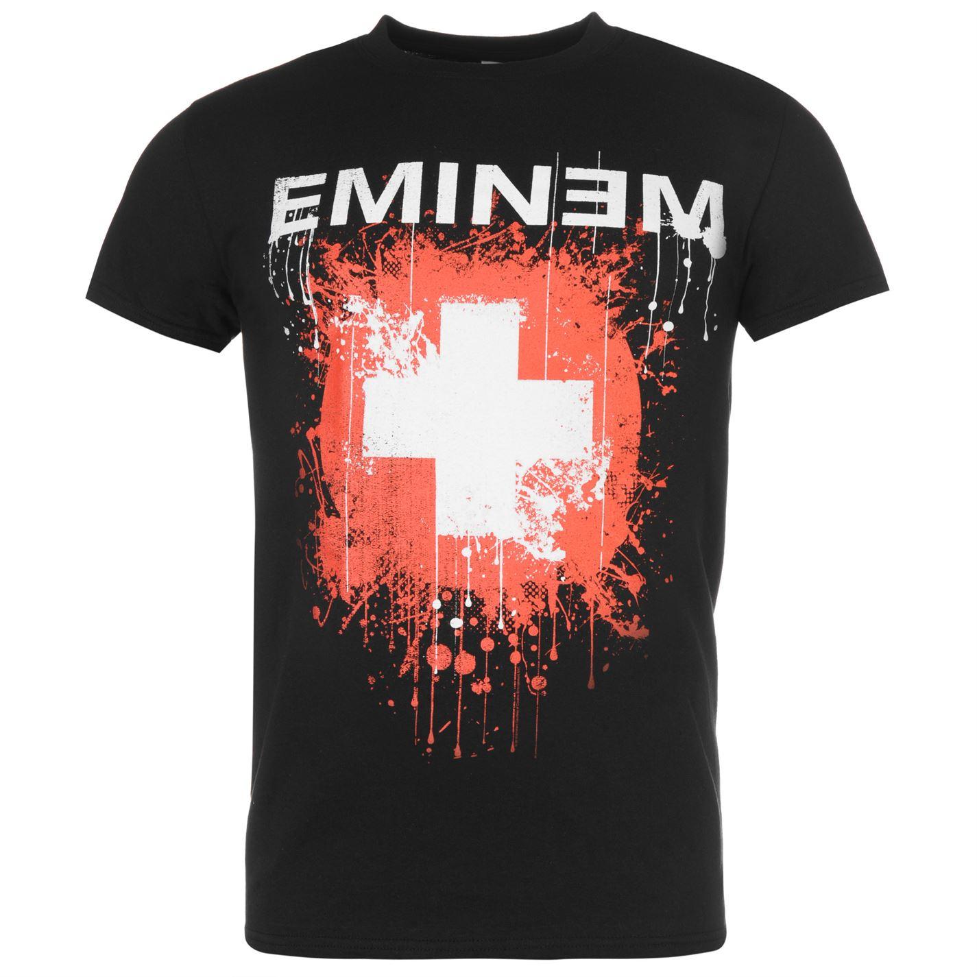 Official Eminem T Shirt Mens