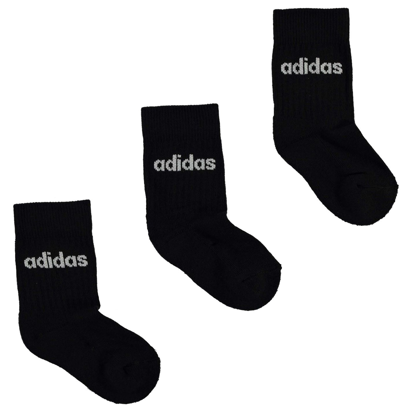 Adidas Crew Socks 3 Pack Infants