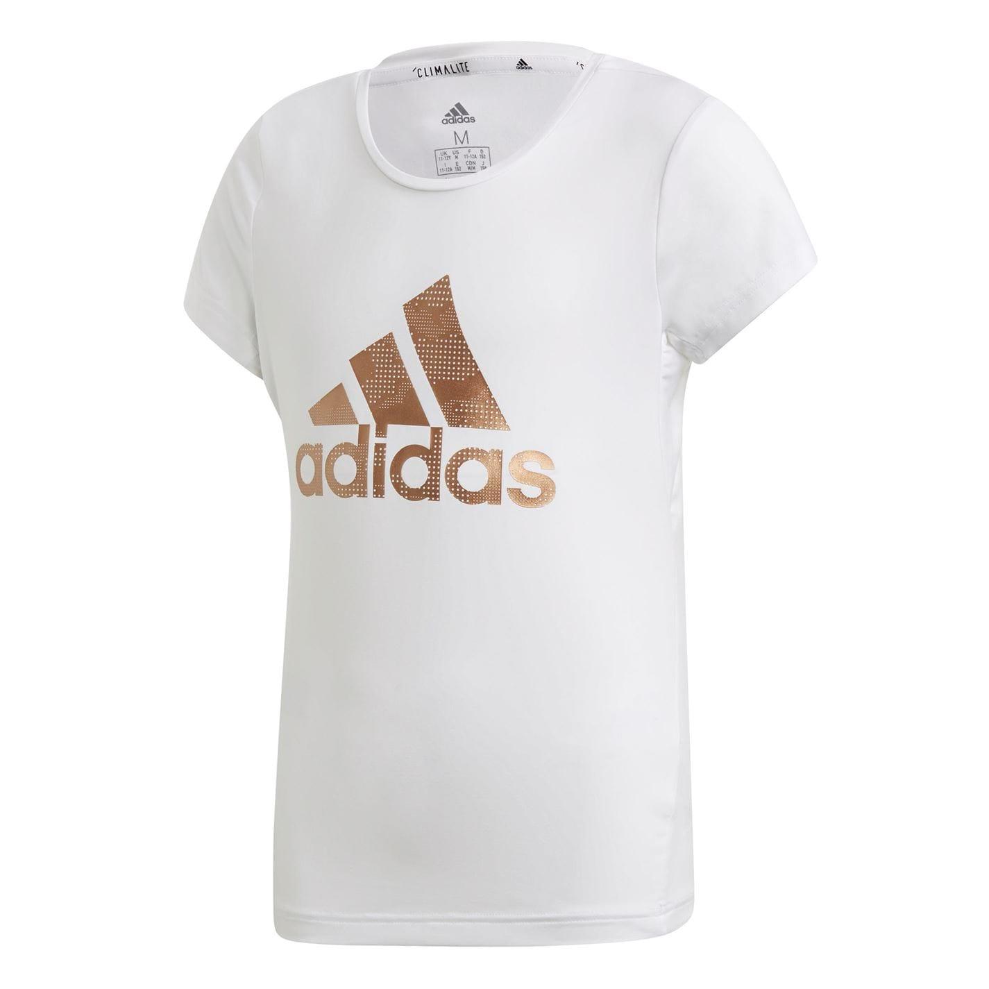 Adidas TR Holiday T Shirt Girls