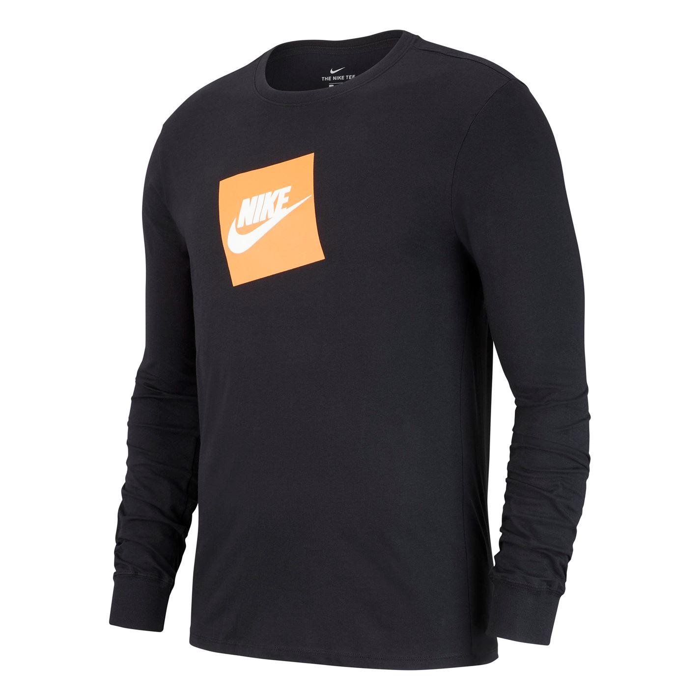 Triko Nike Box HBR Futura Long Sleeve T Shirt
