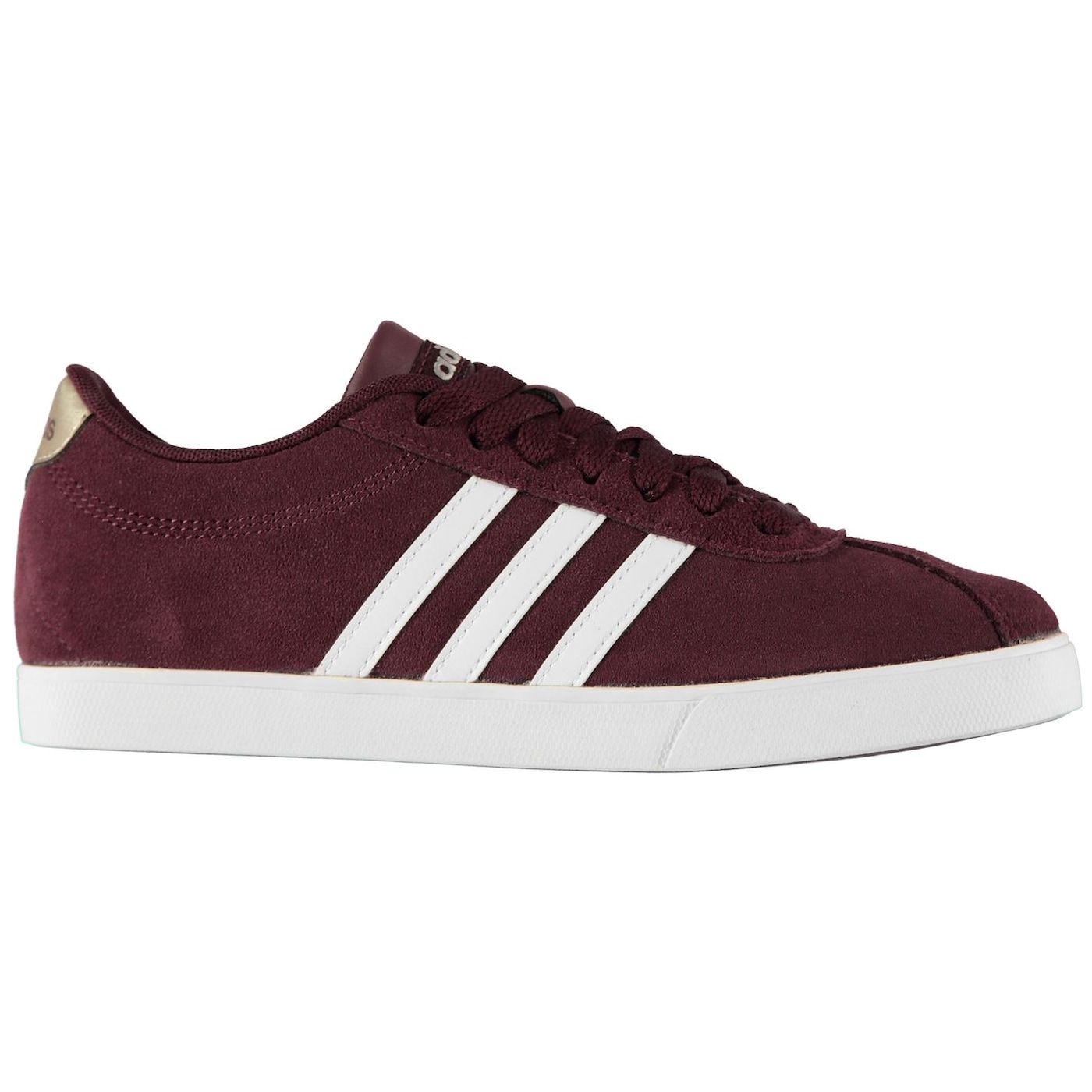 Adidas Court Set Suede Ladies Trainers