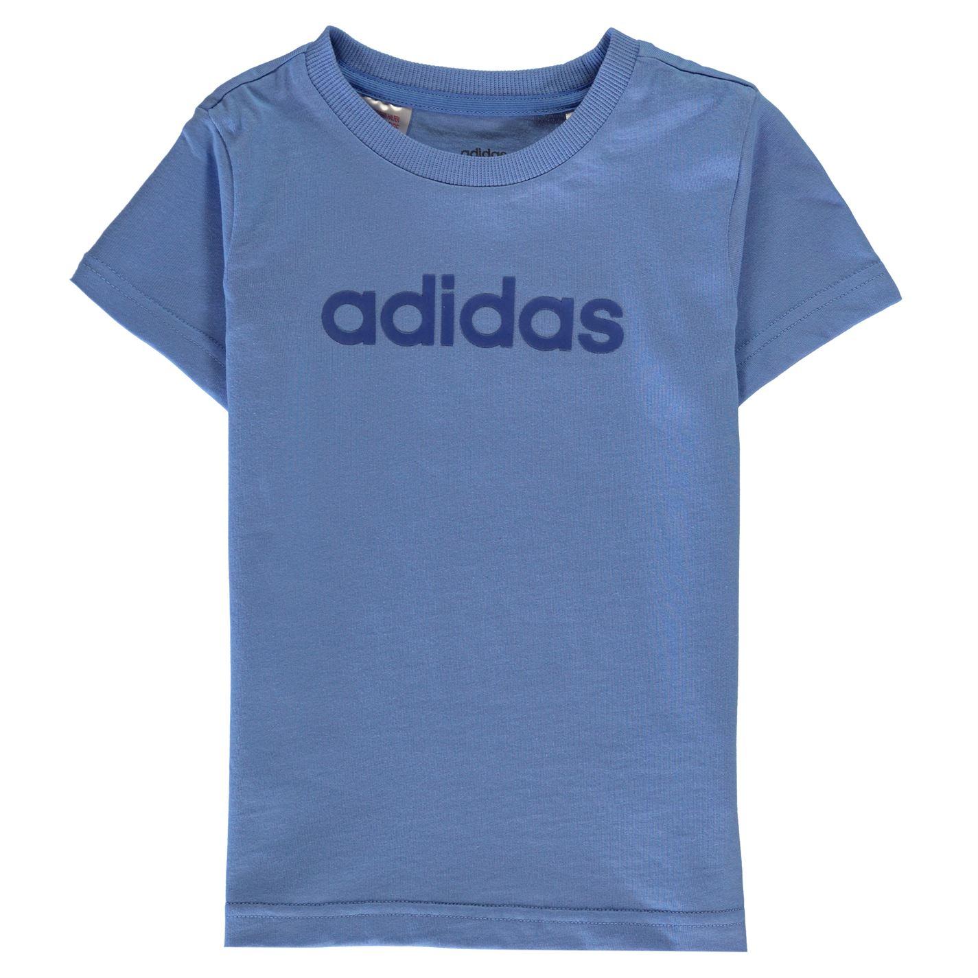 Adidas Linear T Shirt Junior Girls