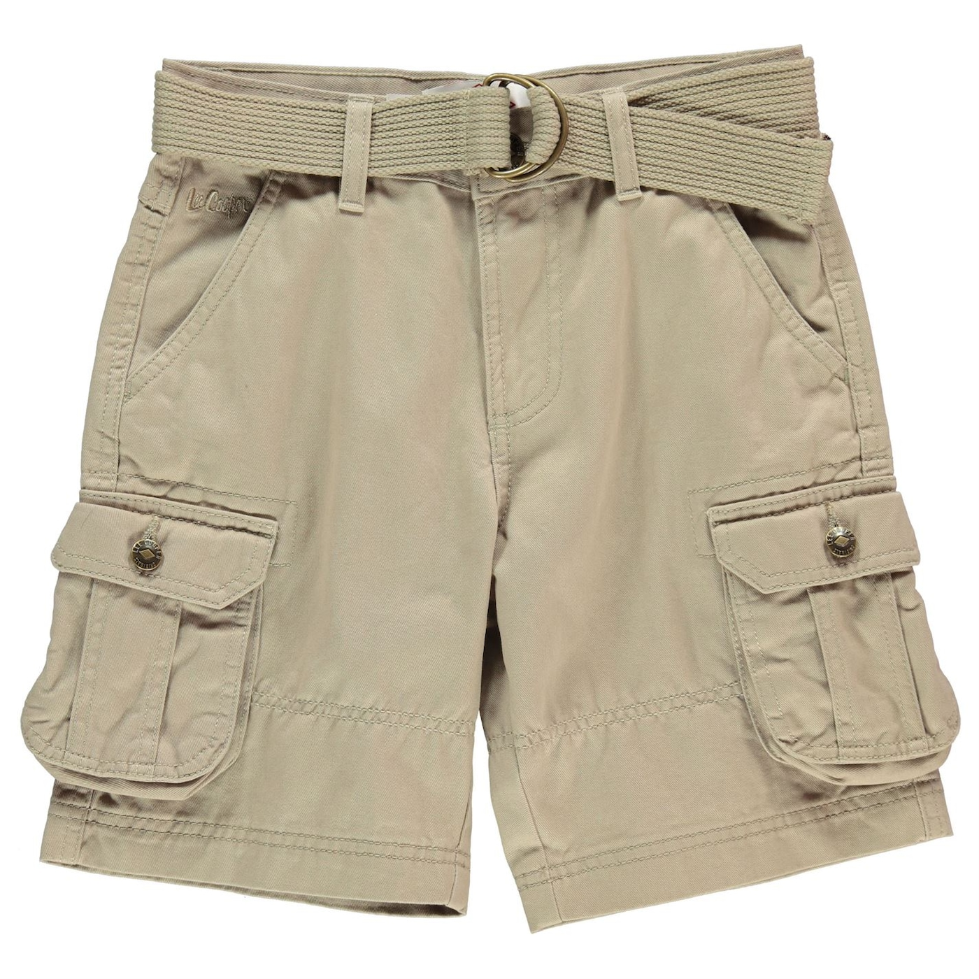 Lee Cooper Belted Cargo Shorts Junior Boys