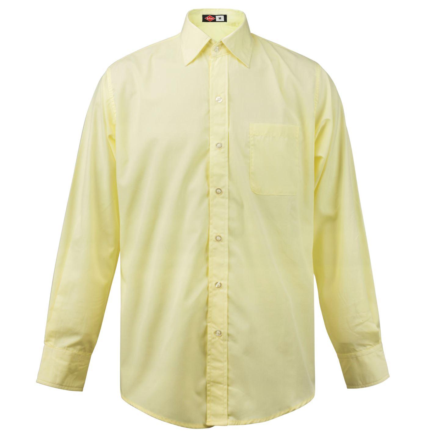 Lee Cooper Long Sleeve Pocket Shirt Mens