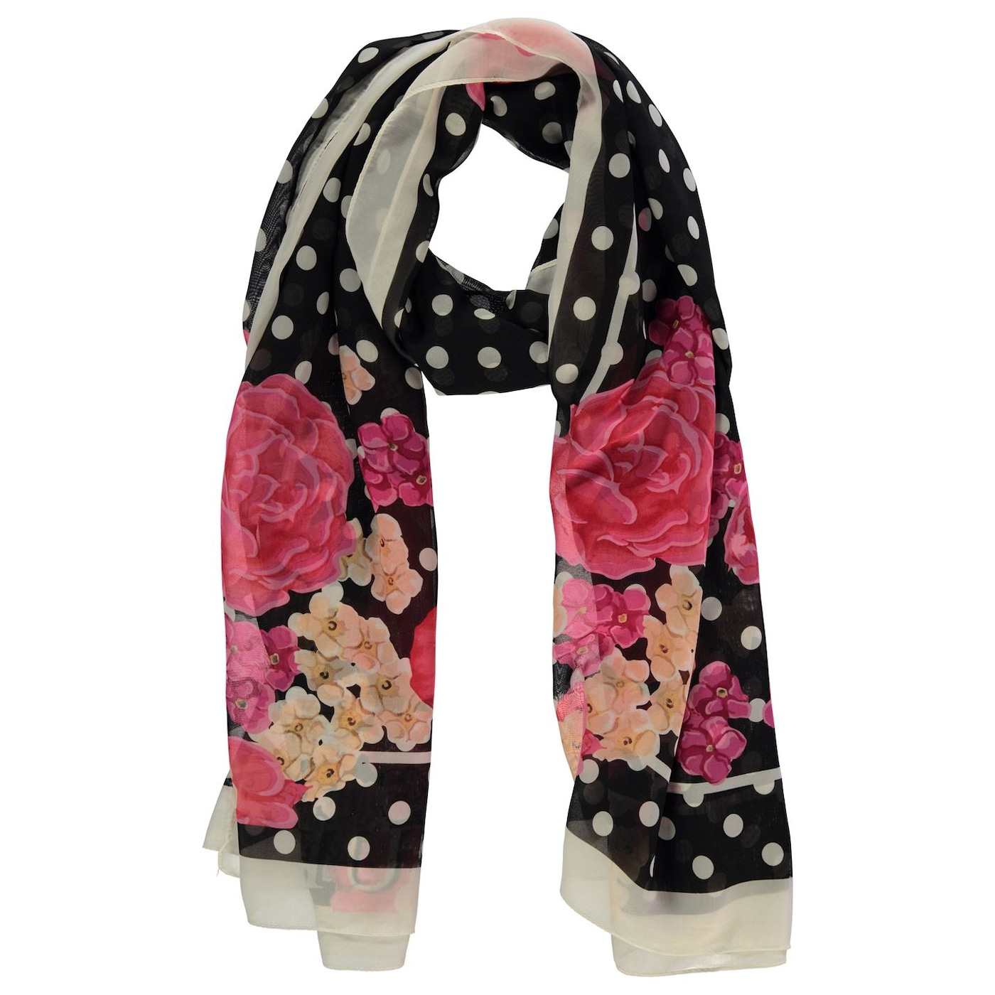 Guess Polka Dot Scarf Ladies