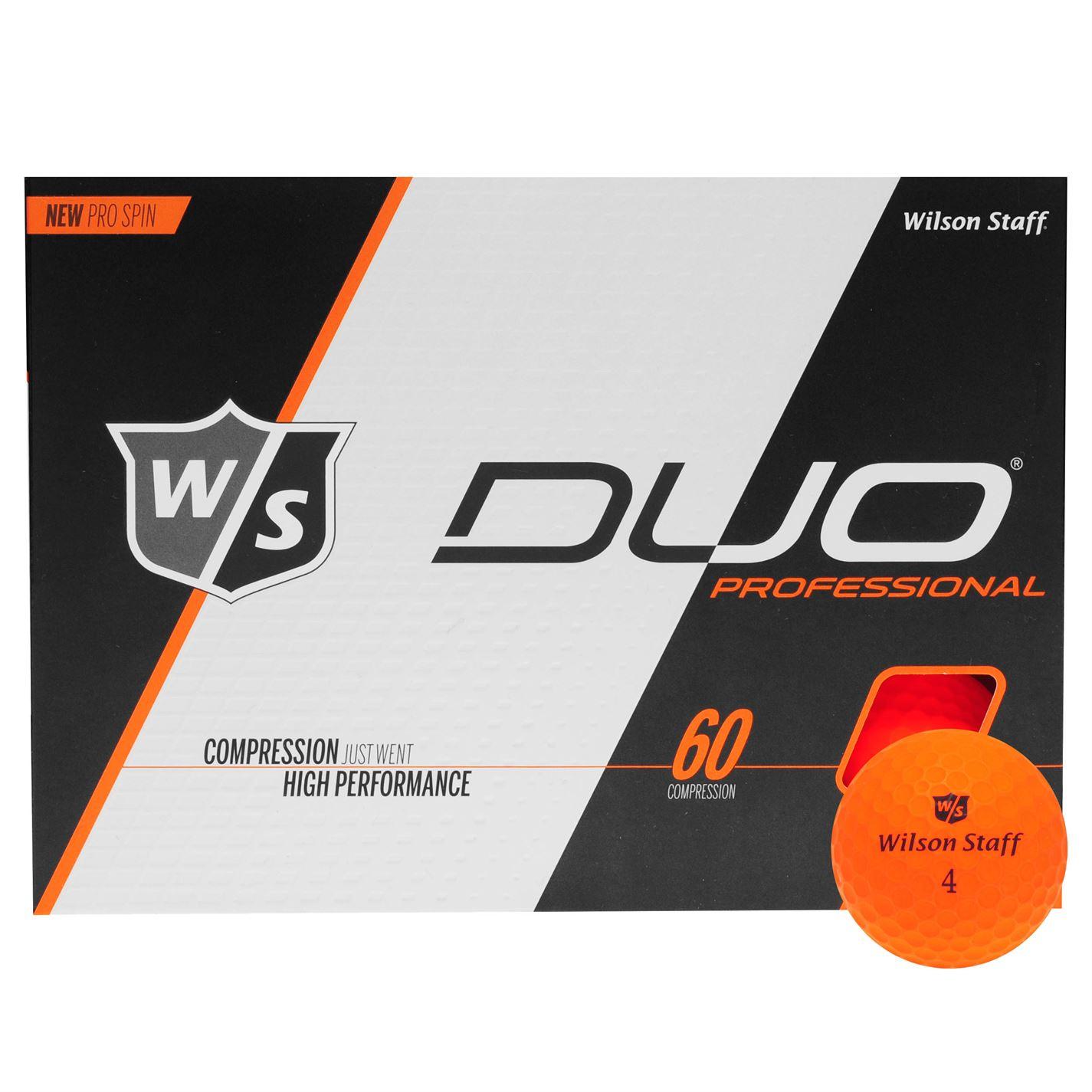 Wilson Staff Duo Pro Golf Balls 12pk