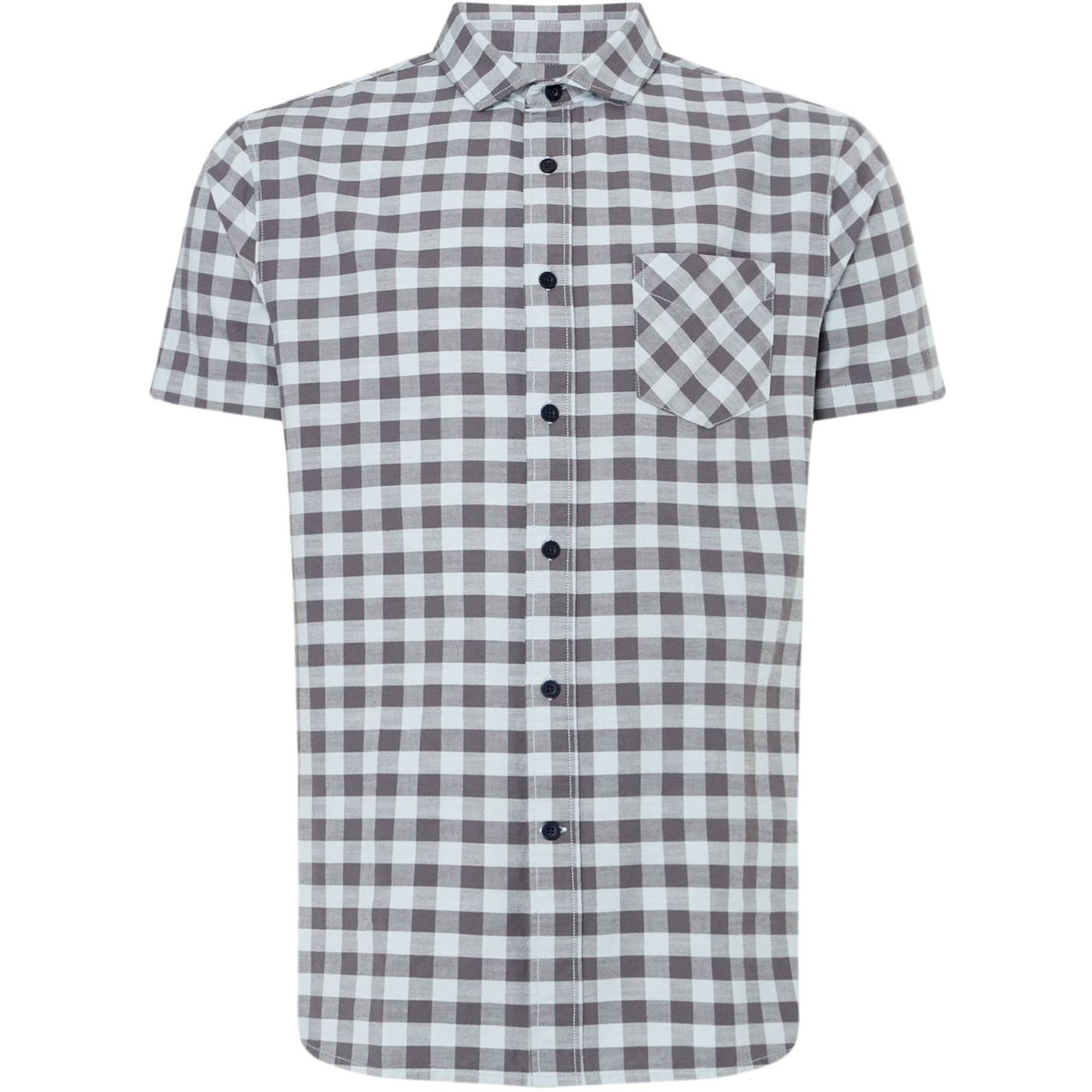 Criminal Meltham Gingham Short Sleeve Shirt