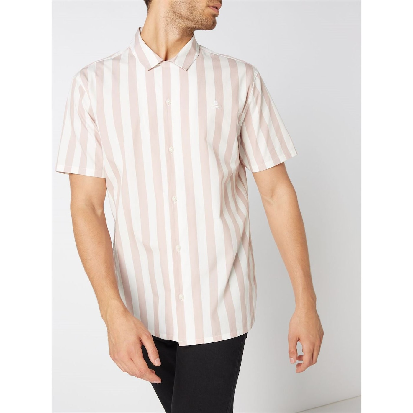 Label Lab Pisces Vertical Stripe Shirt