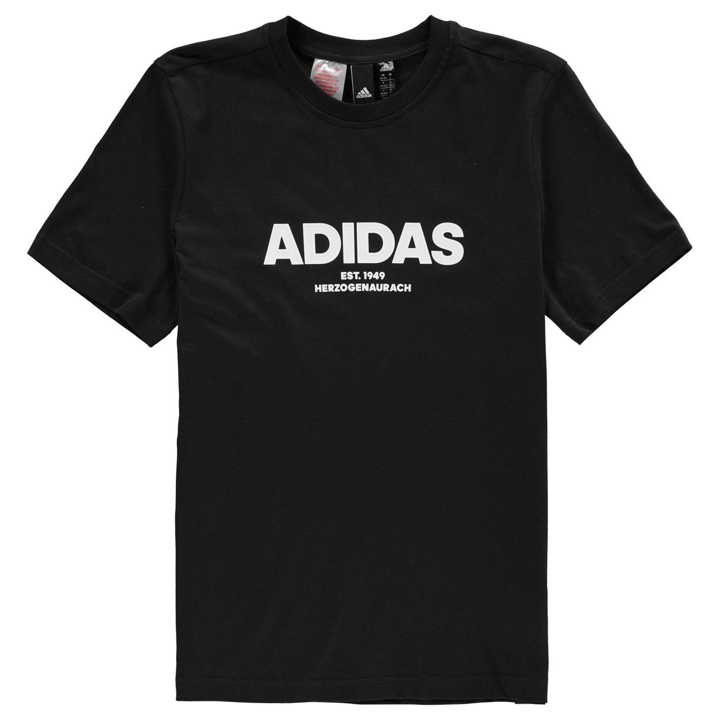 Adidas All Caps T Shirt Junior Boys