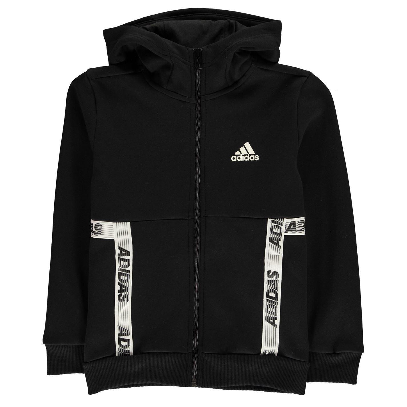 Adidas Sport ID Zipped Hoodie Junior