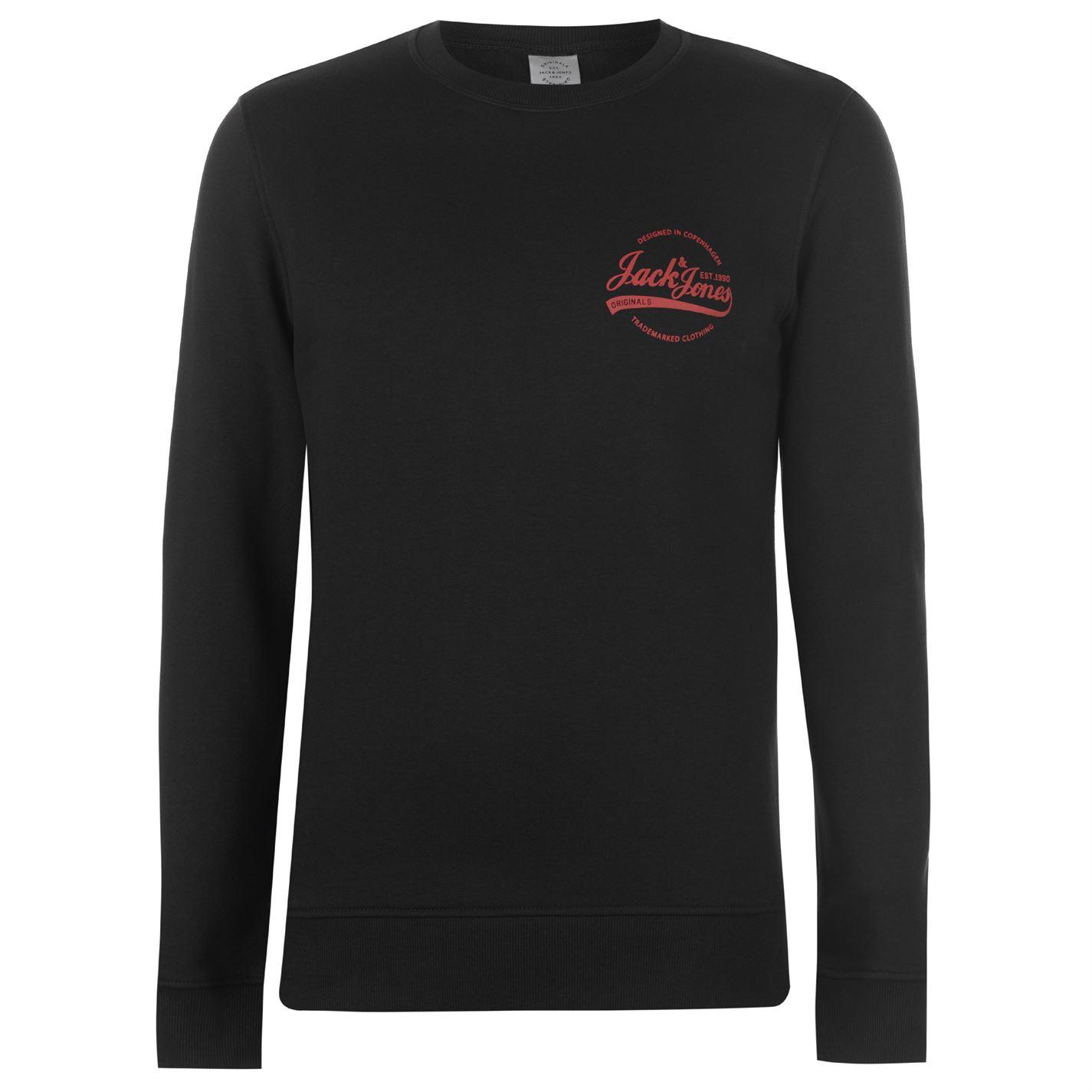 mikina Jack and Jones Originals Rafsmen Crew Sweater