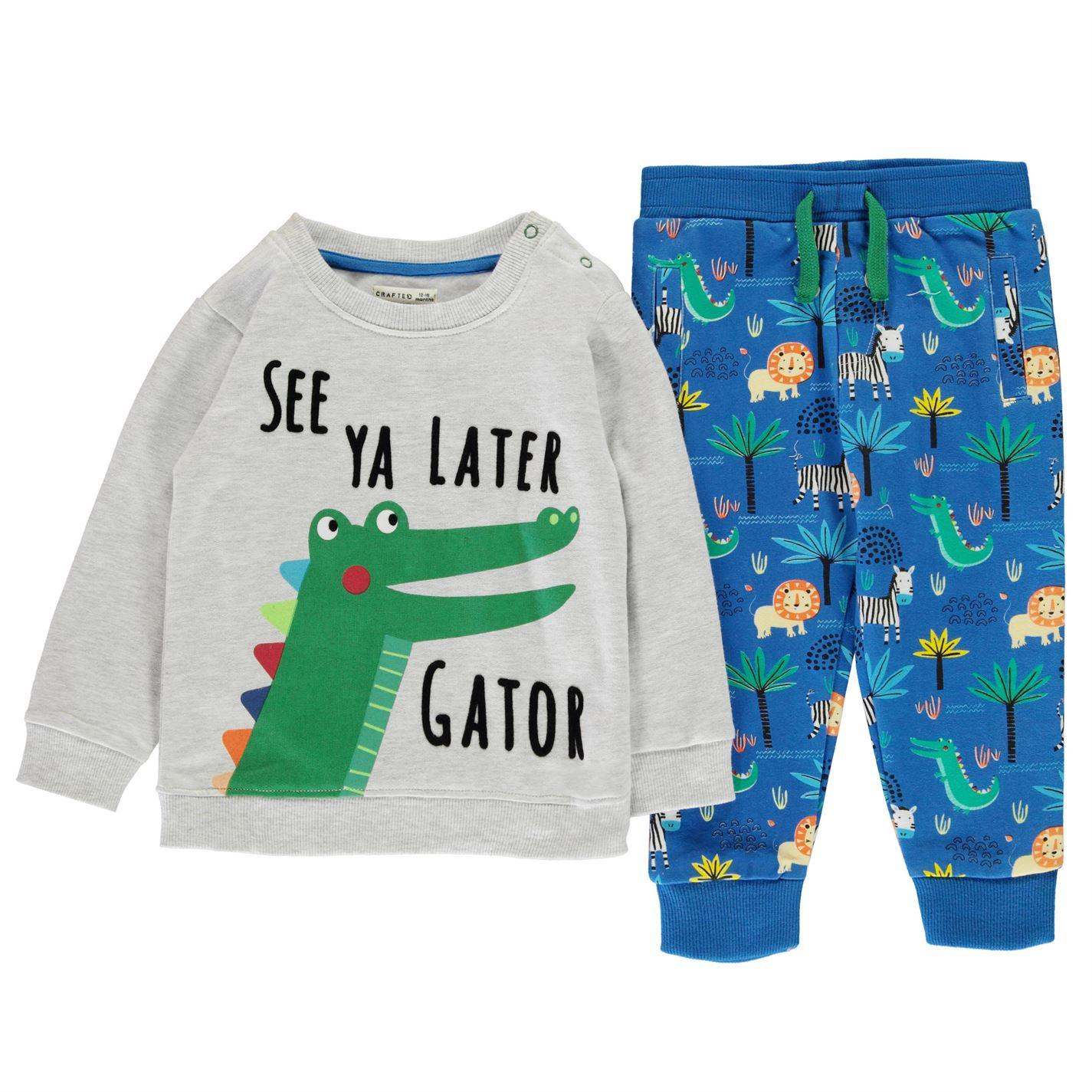 Crafted Essentials Infant Boys 2 Pack Jog Set