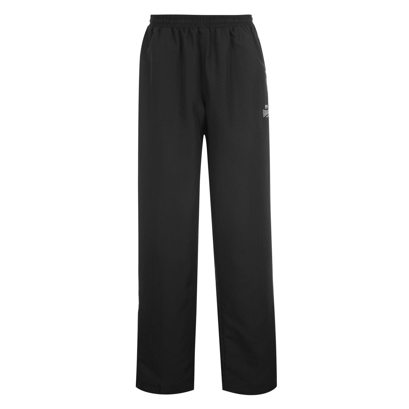 Lonsdale Open Hem Woven Pants Mens