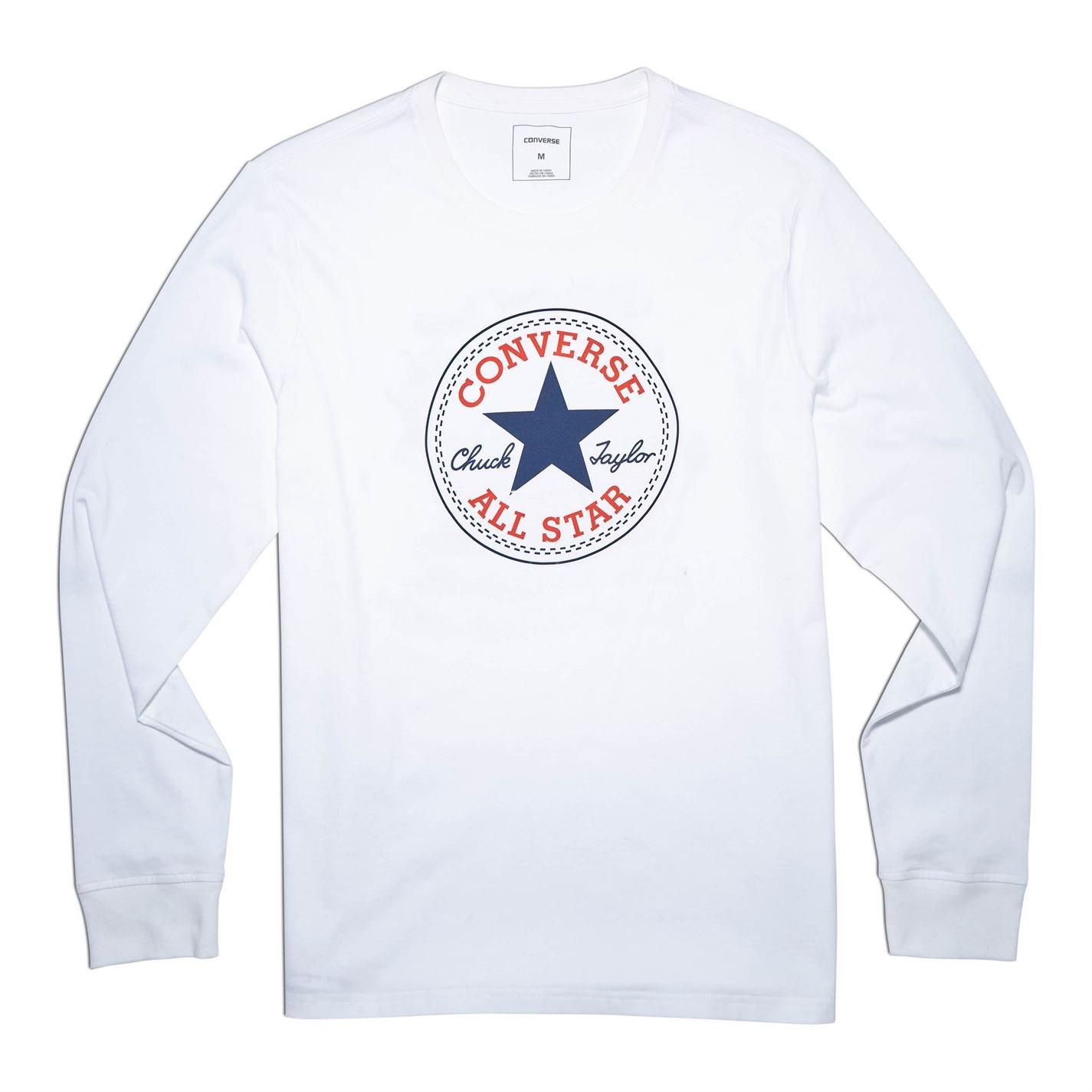Converse Long Sleeve Logo T Shirt